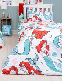 The Little Mermaid Oceanic Reversible Duvet Cover - Single