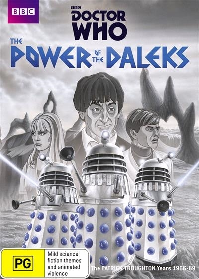 Doctor Who: The Power of the Daleks on DVD