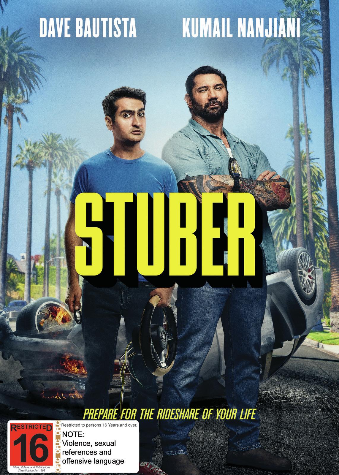 Stuber on DVD image