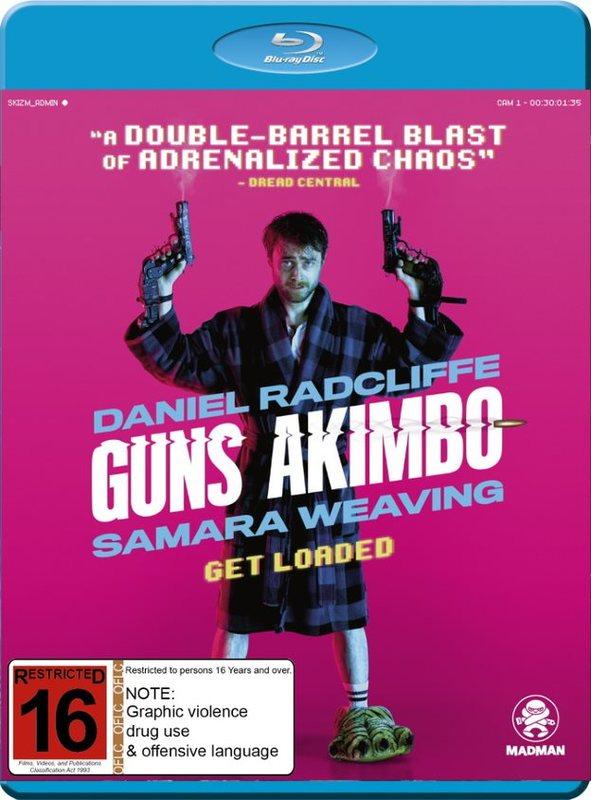 Guns Akimbo on Blu-ray