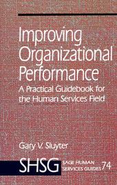 Improving Organizational Performance by Gary V. Sluyter image