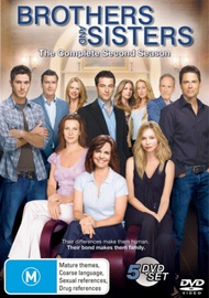 Brothers And Sisters - Season 2 (5 Disc Set) on DVD image