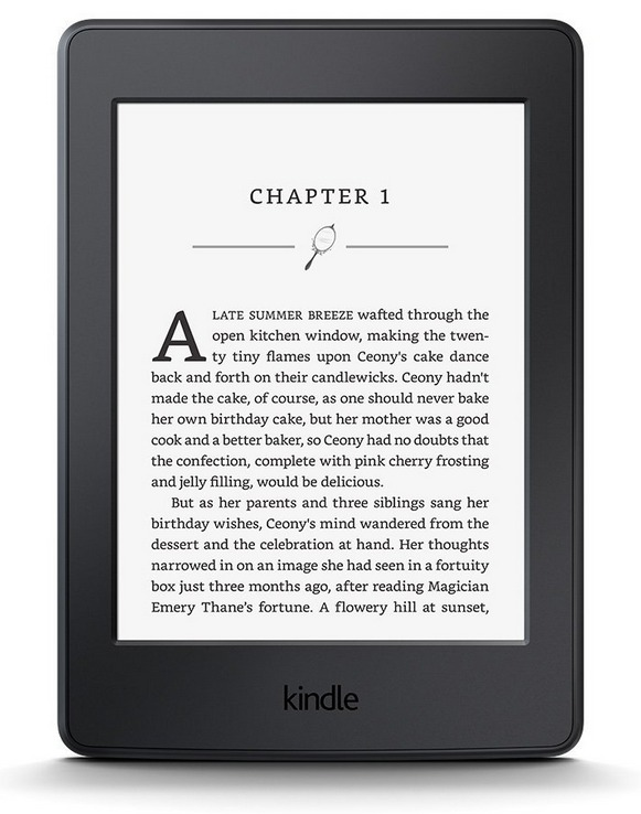 Kindle Paperwhite 3 High-Resolution Display