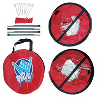 Wahu: Double Soccer Goal Set - Red image