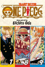 One Piece Omnibus 3: East Blue 7-8-9 (3 Books in 1) by Eiichiro Oda image