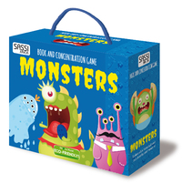 Sassi Book and Memory Matching Set (Monsters) image