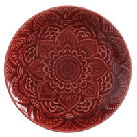 Maxwell & Williams Talisman Plate 18.5cm Merlot