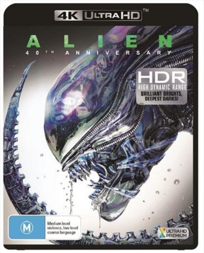 Alien on UHD Blu-ray
