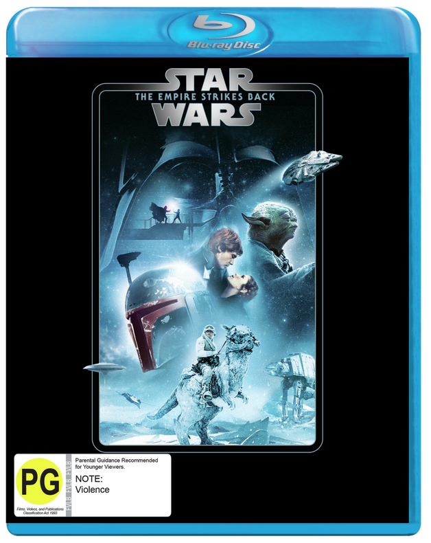 Star Wars: Episode V - The Empire Strikes Back on Blu-ray