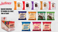 Justine's Protein Cookies Mixed Selection Box No.2 - Assortment (Box of 12)