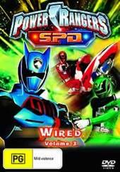 Power Rangers SPD - Vol. 3: Wired on DVD