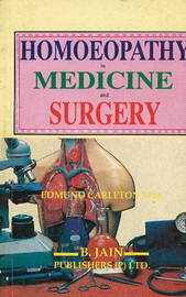 Homoeopathy in Medicine and Surgery by E. Carleton image