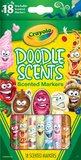 Crayola: Doodle Scents - 18 Washable Marker Pack