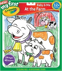 Crayola: My First - Colour & Sticker Book (At The Farm)