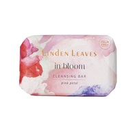 Linden Leaves: In Bloom Cleansing Bar - Pink Petal (100g)