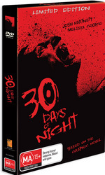 30 Days Of Night - Comic Book Edition (2 Disc Set) on DVD