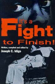 It's a Fight to the Finish by Joseph C. Idigo image