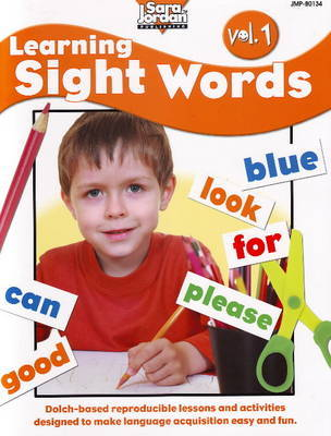 Learning Sight Words Resource Book: Volume 1 by Barbara Rankie image