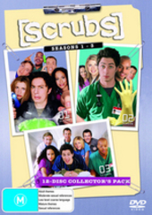 Scrubs - Seasons 1-3: Collector's Pack (12 Disc Box Set) on DVD