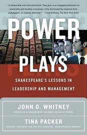 Power Plays by WHITNEY image