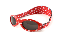 Adventure Baby Banz Sunglasses (Red Dot)