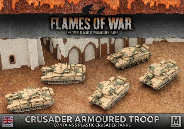 Flames of War: Crusader Armoured Troop