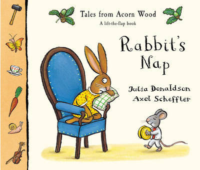 Tales From Acorn Wood: Rabbit's Nap by Julia Donaldson image