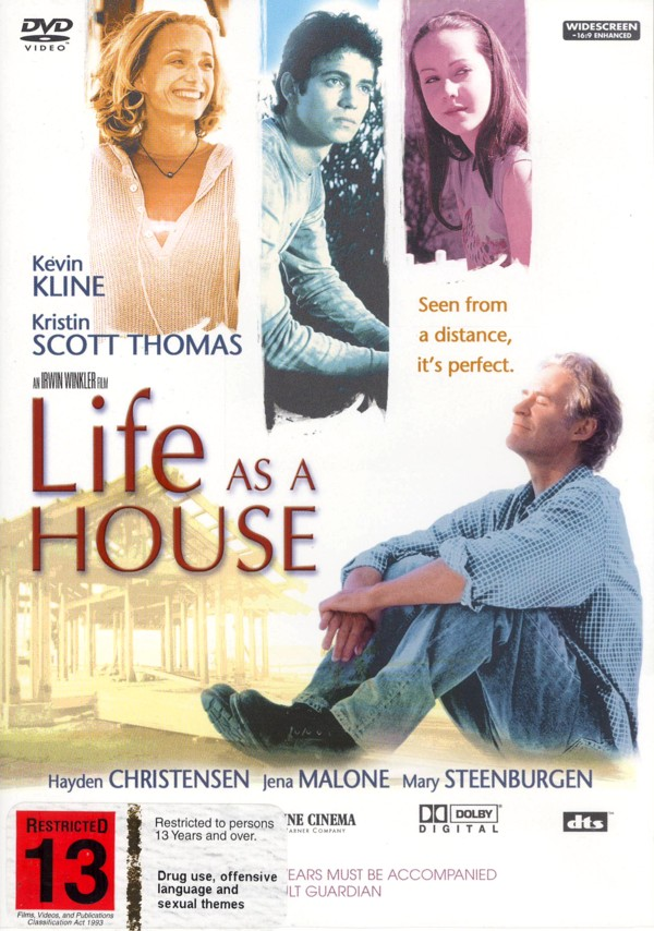 Life As A House on DVD image
