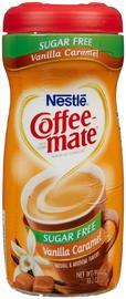 Nestle Coffee-Mate Sugar Free Vanilla Caramel Powder image