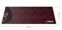 Gorilla Gaming Extended Mouse Pad - XL (Red Camo) for PC
