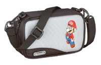 Mario Carry Case for Nintendo DS & GBA (Grey) for Nintendo DS image