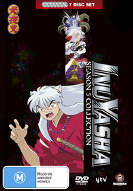 Inuyasha Season 5 Collection on DVD