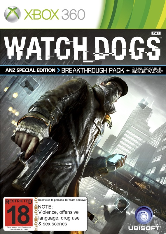 Watch Dogs ANZ Special Edition for X360