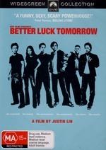 Better Luck Tomorrow on DVD
