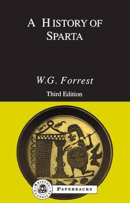 A History of Sparta by W.G. Forrest image