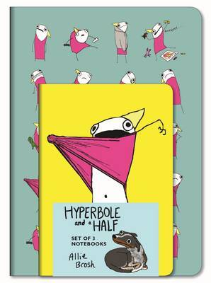 Hyperbole and a Half Notebooks (Set of 3) by Allie Brosh