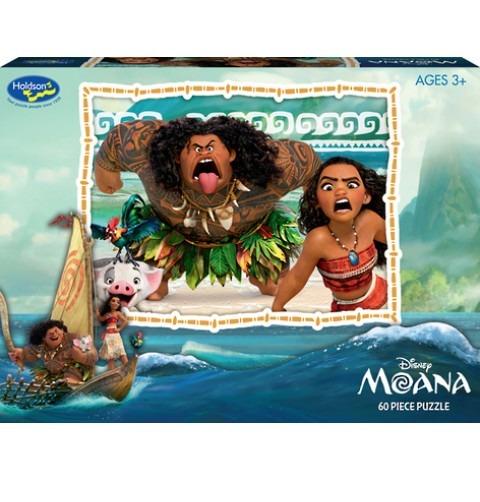 Moana 60 Piece Puzzle - Bold Adventures