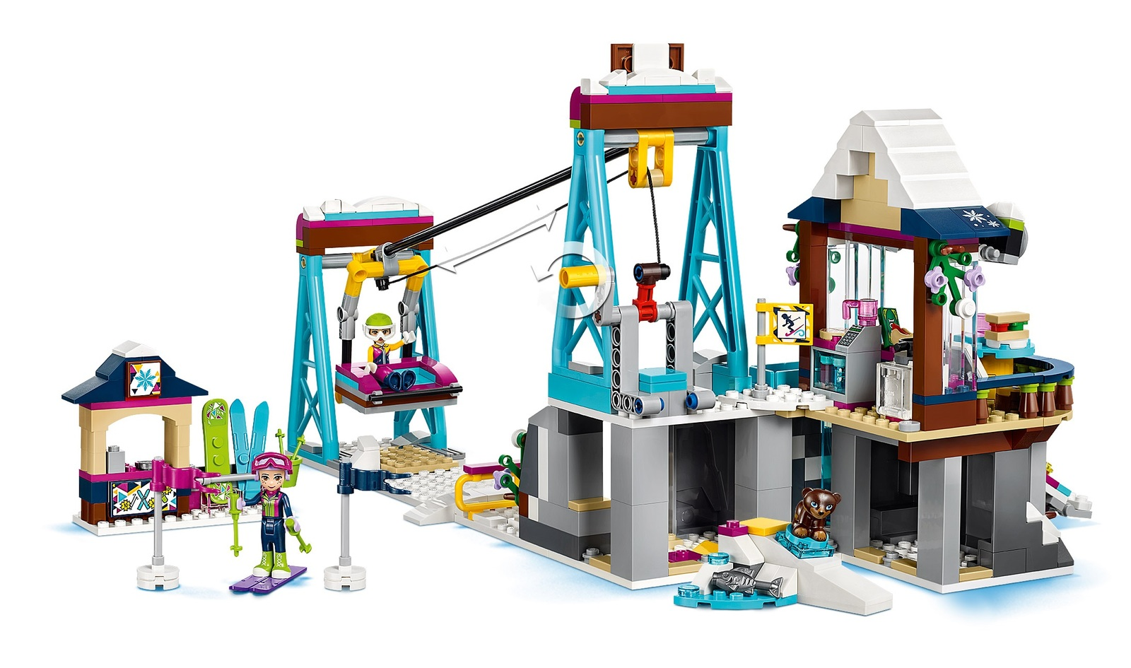 LEGO Friends - Snow Resort Ski Lift (41324) image