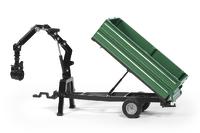 Siku: Oehler Combination Trailer & Grabber - Diecast Vehicle