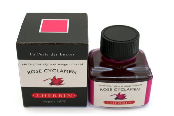 J Herbin: Fountain Pen Ink - Rose Cyclamen (30ml)