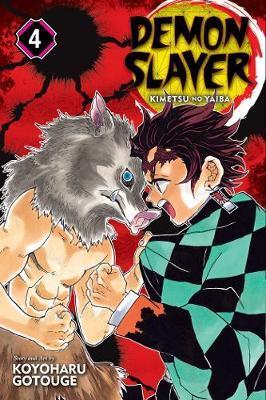 Demon Slayer: Kimetsu no Yaiba, Vol. 4 by Koyoharu Gotouge