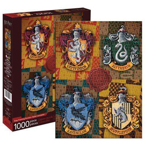 Harry Potter: 1,000 Piece Puzzle - Sorcerer's Stone (Houses)