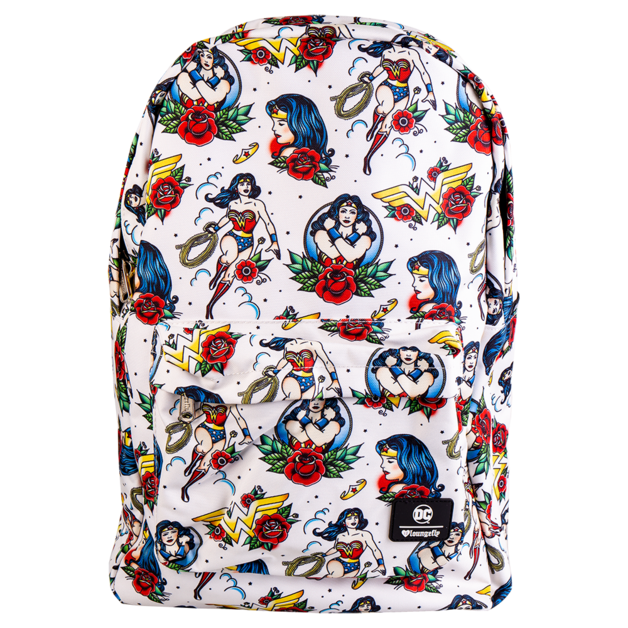 Loungefly: Wonder Woman - Tattoo Print Backpack