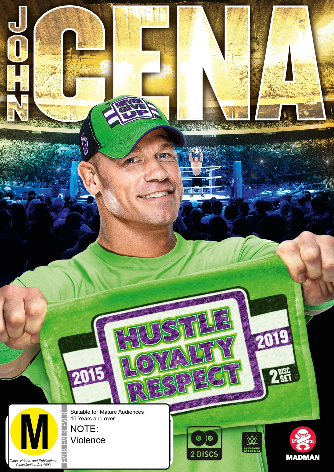 WWE: John Cena: Hustle, Loyalty, Respect on DVD image