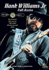 Hank Williams Jnr - Full Access on DVD