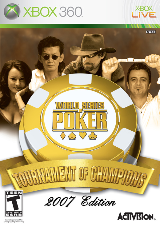 World Series of Poker 2007: Tournament of Champions for Xbox 360 image