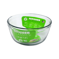Glass Mixing Bowl - 1.5 Ltr