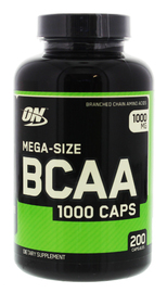Optimum Nutrition BCAA 1000 (200 Capsules)