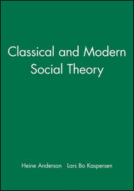 Classical and Modern Social Theory image