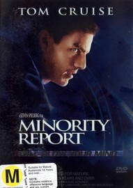 Minority Report (2 Disc) on DVD image